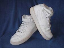 Nike Air Force 1 mens trainers Leather White UK 11 EU 46