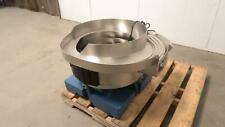 Service Engineering Stainless Steel Vibratory Bowl Feeder 24 In T173229