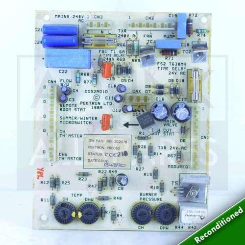 Glowworm Express 80 Chaudière PCB S202078 viennent Avec Garantie de 1 an