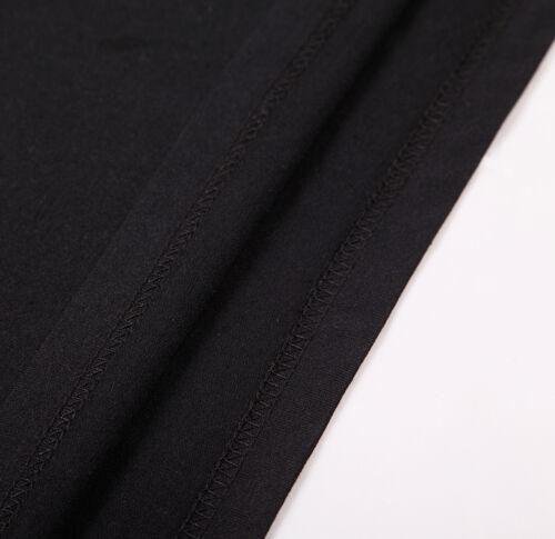 Men/'s Basic Short Sleeve T Shirt Crew Neck Jacquard Pocket Tee Black 215096