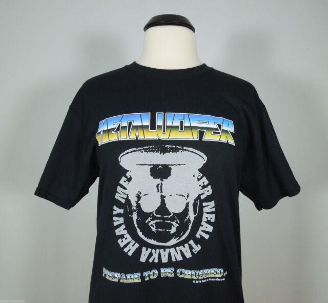 METALUCIFER Neal Metal Master Tanaka Prepare T-Shirt size L (R.I.P. Records) NEW