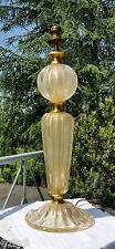 XXL Tischlampe MURANO Italy barovier & toso 50er 60er Jahre desk lamp