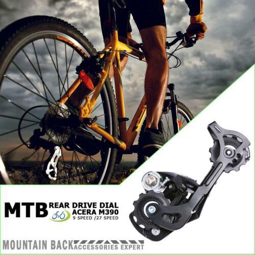 Rear Derailleur M390 9//27 Speed MTB Mountain Bike Derailleur Bicycle Parts