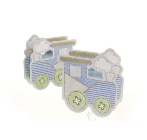 Baby Shower Favour Boxes Box Boy New Baby On Board Boat Train Gener Reveal