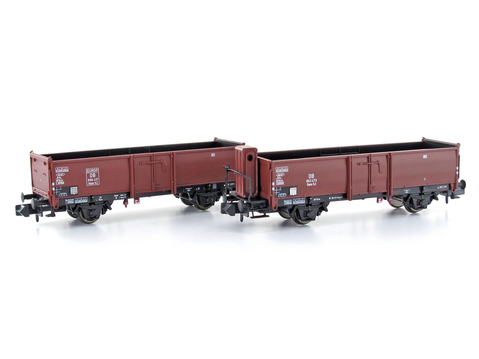 en venta en línea Mu n-g52001 - abierto vagones set omm 52 52 52 DB época III 2 piezas-pista n  calidad fantástica