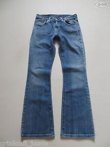 Levi-039-s-529-Bootcut-Jeans-Hose-W-29-L-32-Kult-Waschung-Vintage-Denim-Gr-36