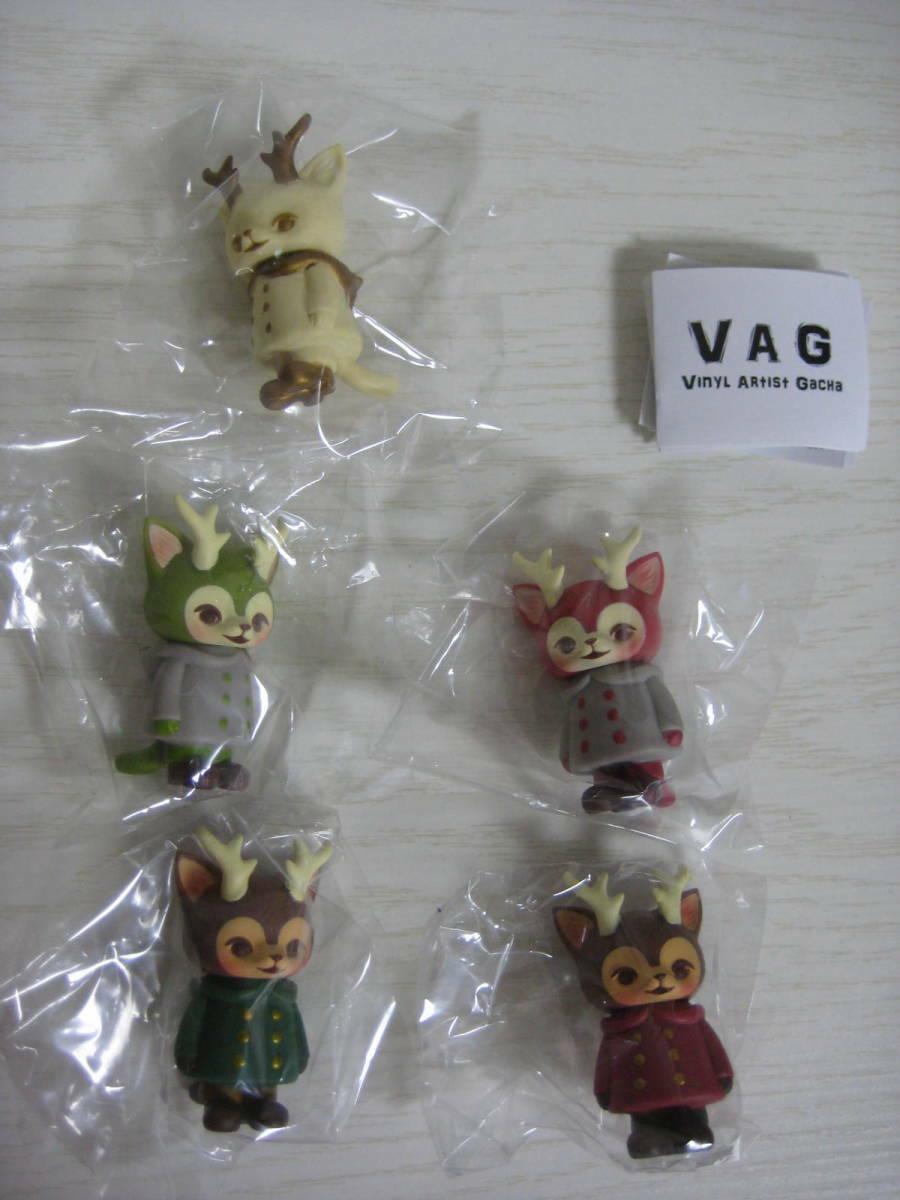 MORRIS VAG Japan Post Ltd set of 5 Kaori Hinata  Hinatique Cat Medicom Sofubi  seleziona tra le nuove marche come