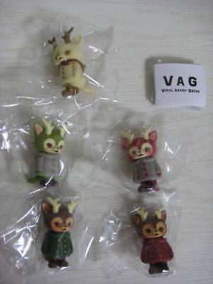 Kaori Hinata MORRIS 5pcs VAG Japan Post Ltd Hinatique Cat Medicom Sofubi Figure
