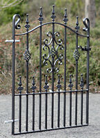 3ft frame height Wrought Iron Metal Garden Driveway Gate-3ft (914mm) opening