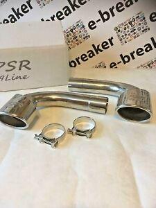 Porsche-996-Silenciador-De-Escape-SILENCIADOR-tubos-de-bypass-eliminar-3-6-GT3-3-4-Taza-de-coche-psr
