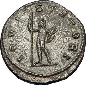 GALLIENUS-253AD-Authentic-Ancient-Original-Genuine-Roman-Coin-JUPITER-i65633