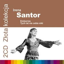 2CD IRENA SANTOR Embarras / Tych lat nie odda nikt *  złota kolekcja