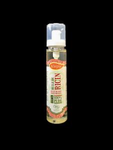 Alepia huile de Ricin Bio bienfaits sur les cheveux les cils et les ongles 100mL