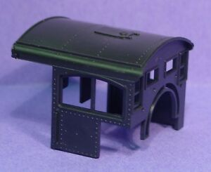HO/HOn3 ROUNDHOUSE SHAY LOCOMOTIVE PART(S) MDC-38 STEEL CAB WITH ROOF HATCH