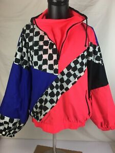 VTG-90s-Off-The-Edge-Extreme-Sports-Windbreaker-Winter-Ski-Jacket-Men-039-s-Size-L