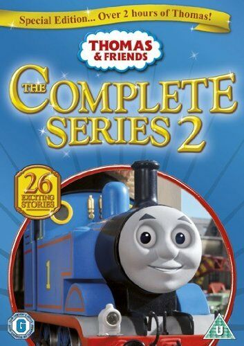 1 of 1 - Thomas The Tank Engine & Friends Complete Series 2 - NEW DVD
