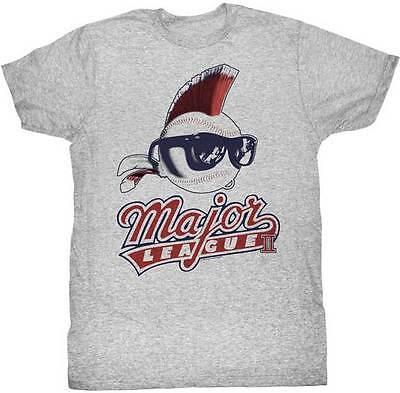 Major League Baller Baseball With Mohawk /& Sunglasses Adult T Shirt