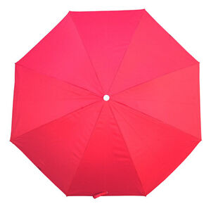 Shelta-Surfers-Beach-Umbrella-UPF50-98-UV-Protection-Tilting-180cm-Ruby-Red