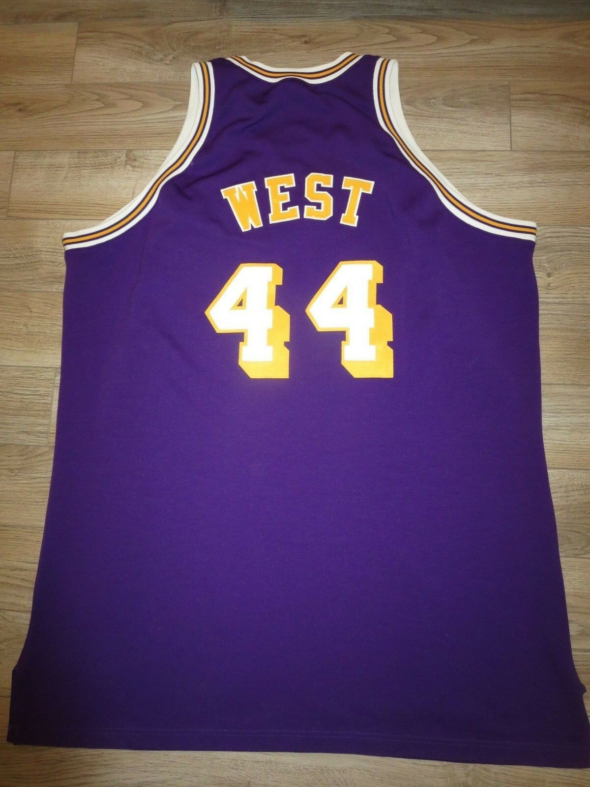 Jerry West  44 Los Angeles Angeles Angeles Lakers NBA Finals 1971 Trikot 56 6b6f90
