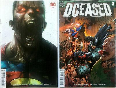 DC Dceased #2 Mattina Variant Cover NM Unread
