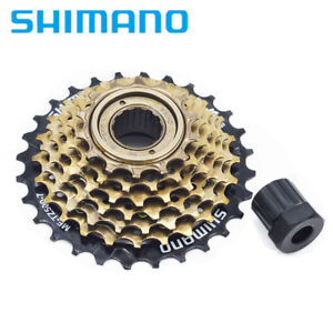 Bicycle Components & Parts Cassettes, Freewheels & Cogs Shimano Mf-tz21 14-28 Teeth 7 Speed Freewheel Choice Materials