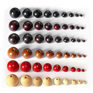 100pcs-Round-Wood-Beads-Ball-Spacer-Loose-DIY-Craft-Necklace-Bracelets-Fashion