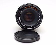 Auto Chinon f1.9 50mm Manual Focus Pentax K Mount PK Prime Camera Lens