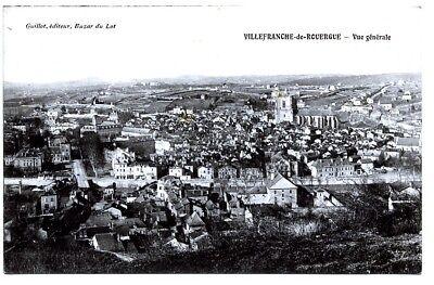 (s-103716) France - 12 - Villefranche De Rouergue Cpa Guillot Ed. EscalofríOs Y Dolores