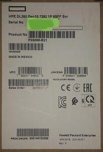 HPE ProLiant DL385 Gen10 16C EPYC 7282 32GB RAM 8x SFF 800W PSU P408i-A BBU Rail
