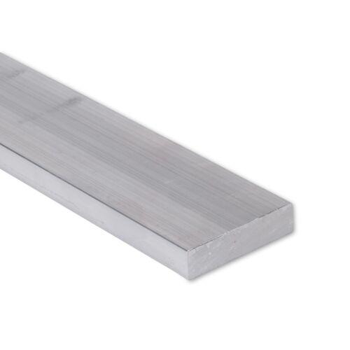 """3//4/"""" x 2/"""" Aluminum Flat Bar 6061 Plate T6511 Mill Stock 0.75/"""" 8/"""" Length"""