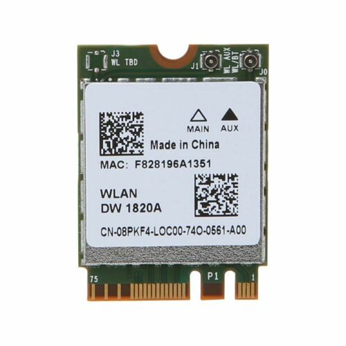 BCM94350ZAE DW1820A Bluetooth 4.1 M.2 NGFF WiFi Wireless Card for Dell Laptops