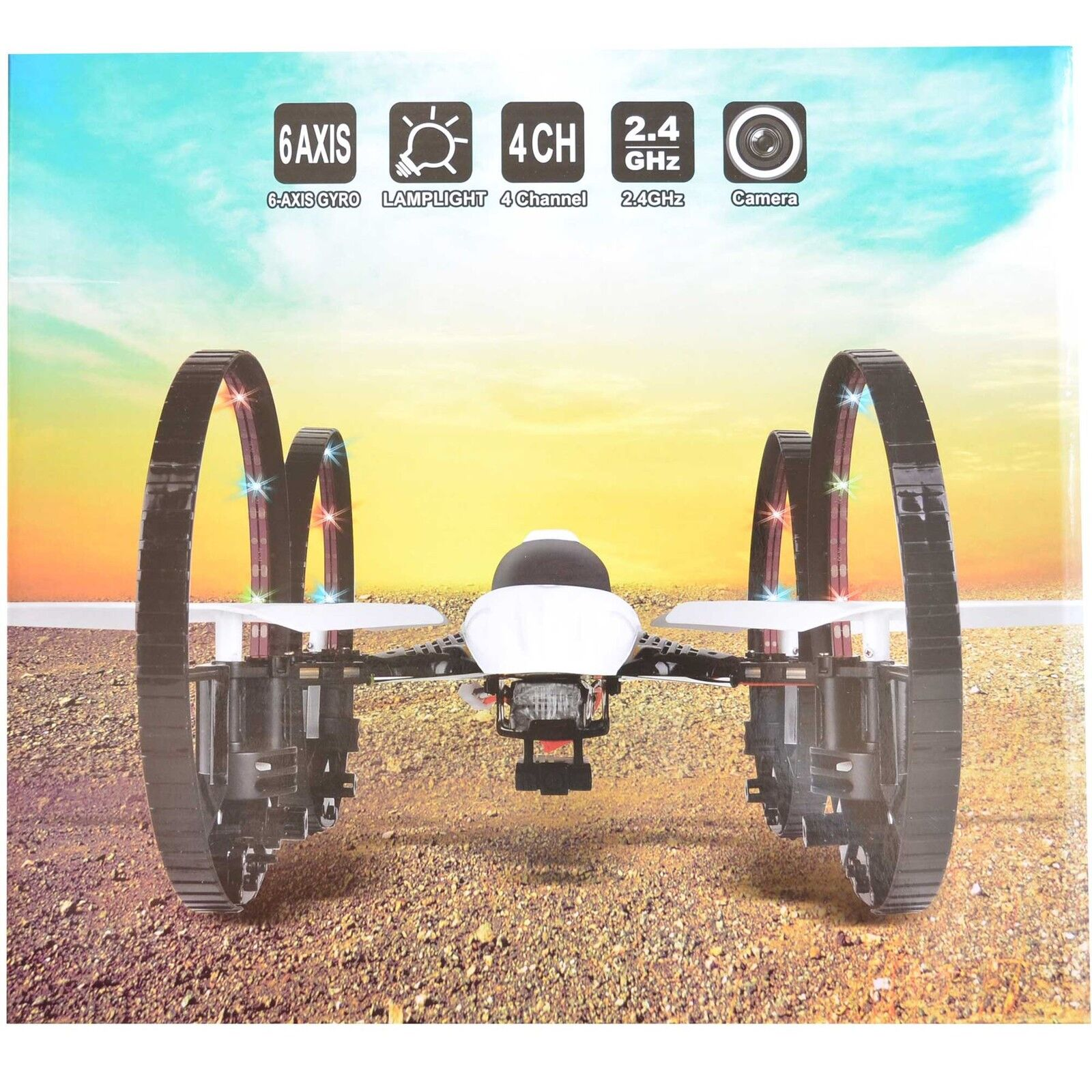 360 Degree RC Helicopter Camera 4 Channel RC Drone Quadcopter 6 Axis Gifts Boys
