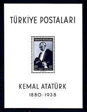 TURKEY - TURCHIA - BF - 1940 - Ritratto del Presidente Ataturk