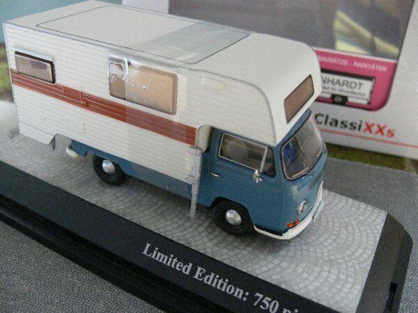 sconto prezzo basso 1 43 Premium classeiXXs VW t2a Tischer-campeggio brea auto blu blu blu 11355  comprare a buon mercato