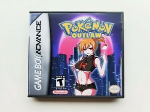 Pokemon-Outlaw-Game-Case-Gameboy-Advance-GBA-For-Teens-USA-Seller