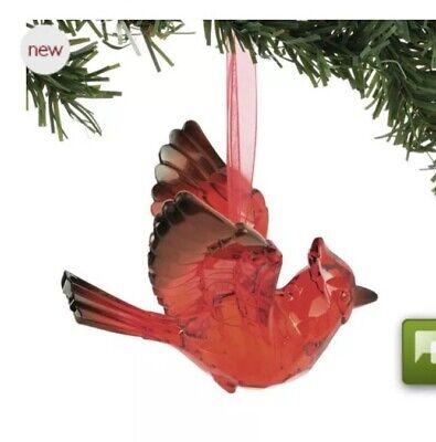 Dept 56 Red Cardinal Bird Christmas Ornament Large 3 125 Ebay