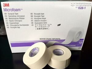 Details about 3M Microfoam ELASTIC FOAM Surgical Medical Tape 1