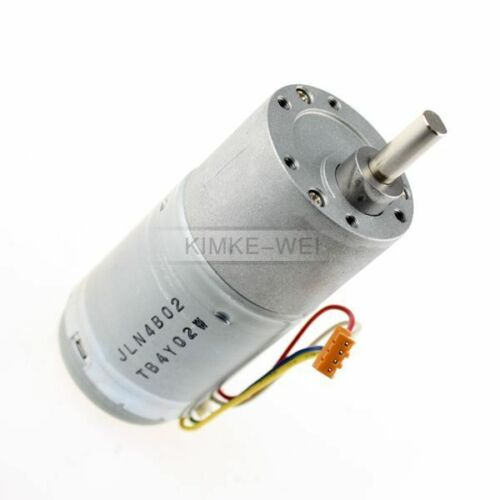37mm 12V DC 80RPM Replacement Torque Gear Box Motor New
