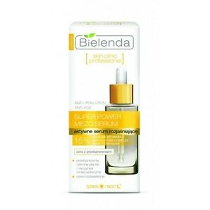 BIELENDA SUPER POWER MEZO ACTIVE BRIGHTENING FACE SERUM WITH VITAMIN C 30ml