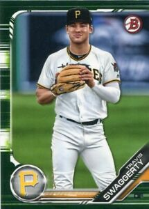 uk availability 8817b 12f9a Details about 2019 BOWMAN CAMO PARALLELS RC TRAVIS SWAGGERTY PITTSBURGH  PIRATES ROOKIE - 4980