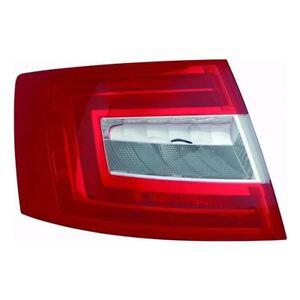 Skoda-Octavia-Mk3-Hatchback-1-2013-gt-Rear-Tail-Light-Lamp-Passenger-Side-N-S