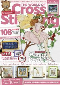 The World of Cross Stitching Magazine 302 January 2021 - Winged Beauty