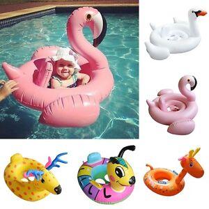 Sunshade-Baby-Kids-Float-Seat-Boat-Inflatable-Swim-Swimming-Ring-Pool-Water-Fun
