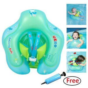 Inflatable Baby Kids Float Swimming Ring Safety Swim Trainer Water Toys Sports