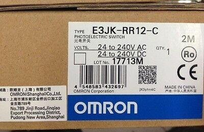 Omron Photoelectric Switch E3JK-RR12-C E3JKRR12C new in box