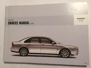 volvo s80 owner manual driver handbook 2006 petrol diesel turbo t6 rh ebay co uk 2008 Volvo S80 AWD 2006 Volvo S80 AWD