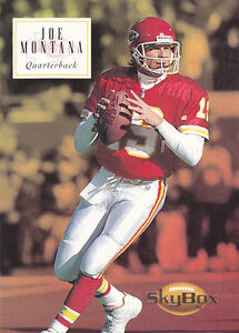 1994-JOE-MONTANA-Skybox-Football-Card-75-Kansas-City-Chiefs