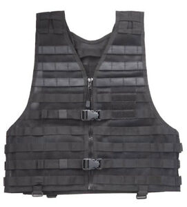 Vest-Ties-Molle-5-11-Tactical-Series-Lbe-Black-New