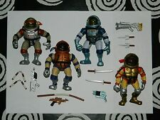 Space Hoppin' SET 4 TMNT COMPLETE TEENAGE MUTANT NINJA TURTLES