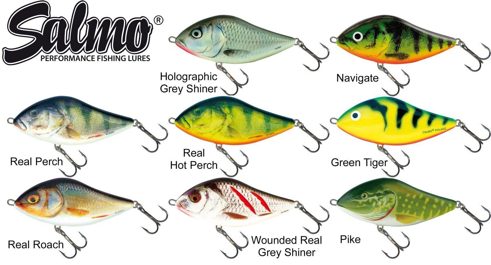 8 8 8 salmo slider jerkbaits 5cm 8g aproxlmando, arte cebo para spinnfischen, cucharilla e23027